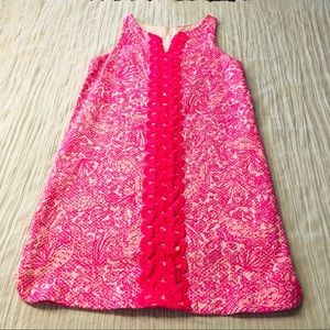 LILY PULITZER FOR TARGET - GIRLS PINK/WHITE DRESS